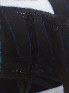 """The Midnight Sun"" - 2011 - 30""x40"" - Acrylic on Canvas"