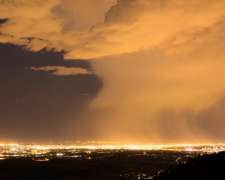 Thunderstorm Over Denver