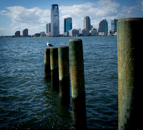 New York City - looking over to Jersey near Battery Park © TeeWayne Photography 2011