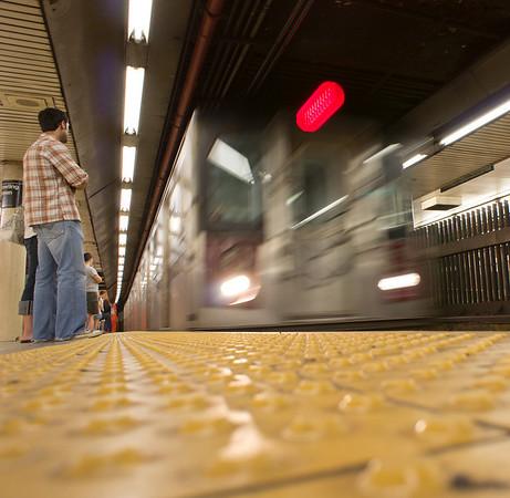 New York City - On the subway! © TeeWayne Photography 2011