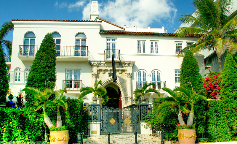 South Beach - Versace Mansion day time.  This is now a boutique hotel.  Only $1150-1500 per night.