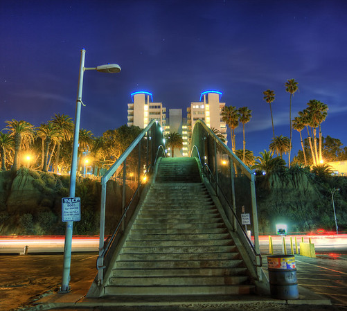 Stairway to.... Santa Monica, California
