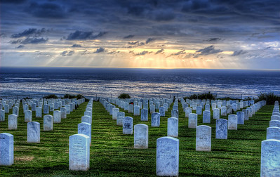 Fort Rosecrans National Cemetery Point Loma, San Diego, California