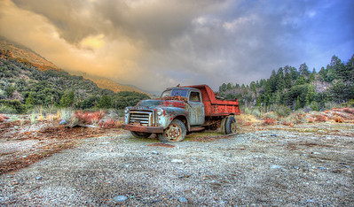 Truckin Forest Falls, California