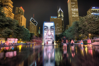 Crown Fountain Chicago, IL