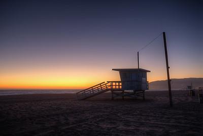 Zuma Beach Lifeguard, Malibu, Ca