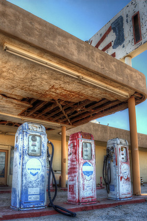 Gas Pumps @ Desert Center California