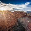 Red Rock Sunburst