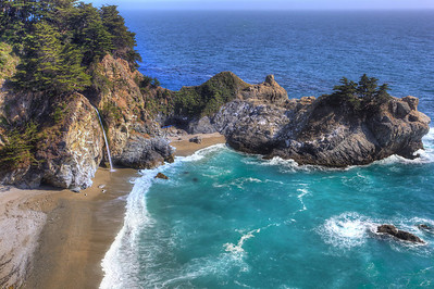Julia Pfeiffer Burns State Park Big Sur, California