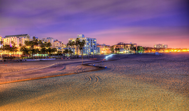 Santa Monica Beach Santa Monica, California After all the photographers got off the beach things seemed to be a little more peaceful.