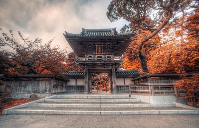 Japanese Tea Garden Enterance  San Francisco, California