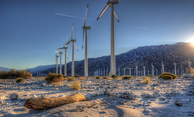 Windmill farm @ Palm Springs California