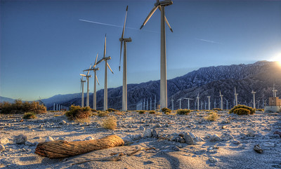 Windmill farm @ Palm Springs California