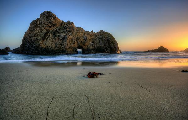 Pfeiffer Beach, Big Sur California