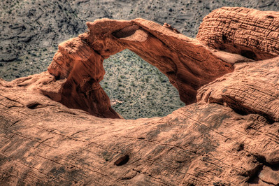 Valley of Fire Arch, Nevada