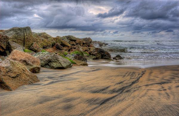 Rocky Ocean Beach, San Diego, California
