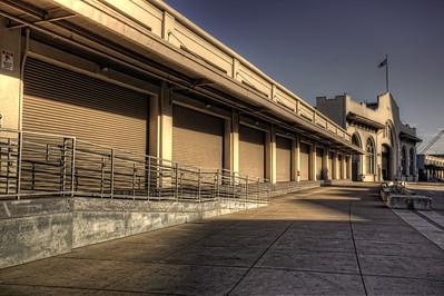 Empty Street, San Francisco, California
