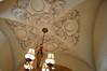 trompe l'oeil ceiling carvings