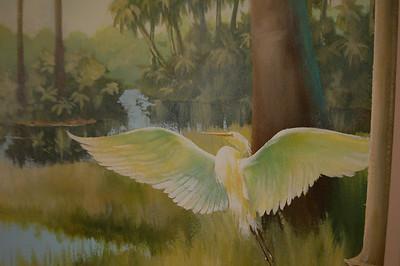 detail from rotunda mural 'st. johns river, morning'