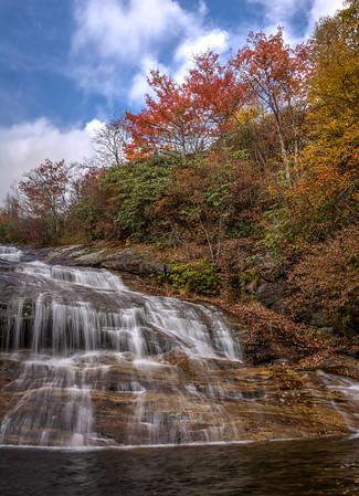 Second Falls in Autumn