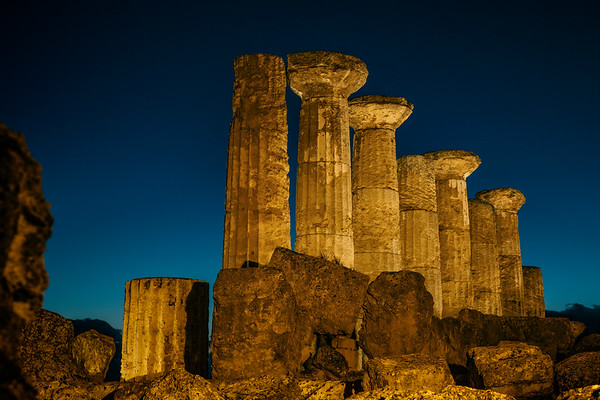 Temple of Heracles (Hercules), Agrigento, Sicily