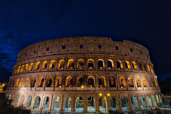Colosseum of the Night