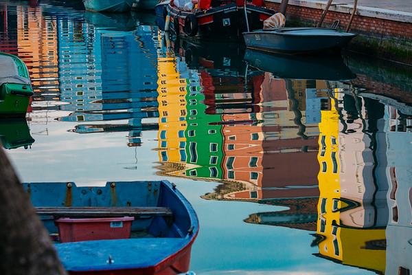 Vibrant Reflections of Burano