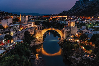 The Night of Mostar