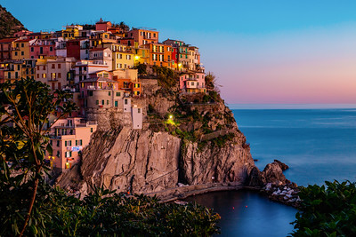 Evening Hues of Cinque Terre