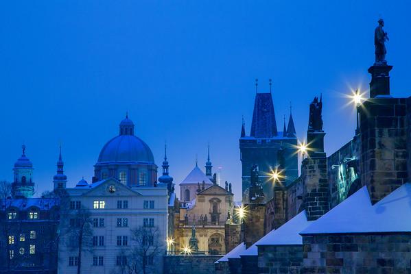 Saint Francis of Assisi Church under snow