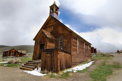 Olde Methodist Church Bodie Ghost Town State Park, California.  Copyright © 2008 All rights reserved