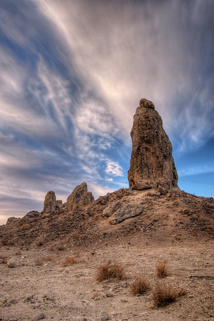 Trona Pinnacles Trona, California.  Copyright © 2008 All rights reserved.