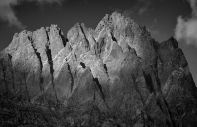 West Face of North Palisade