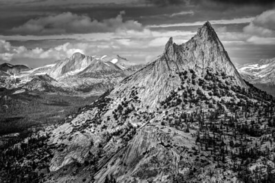 Mount Conness and Cathedral Peak