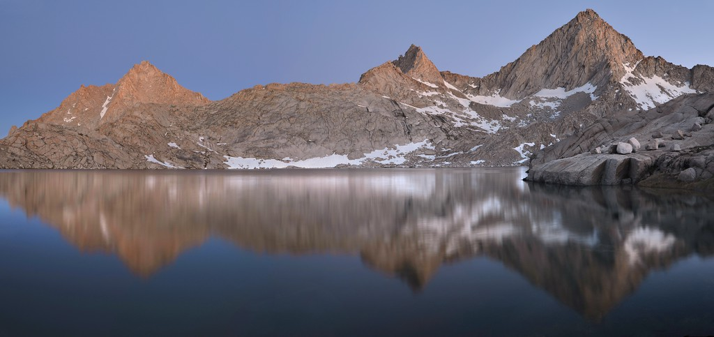 Sawtooth Peak and Columbine Lake