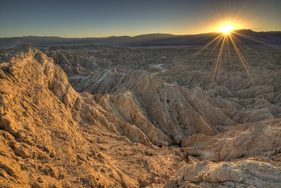 Sunset at Inspiration Point Anza-Borrego Desert State Park, California. Copyright © 2013 All rights reserved.