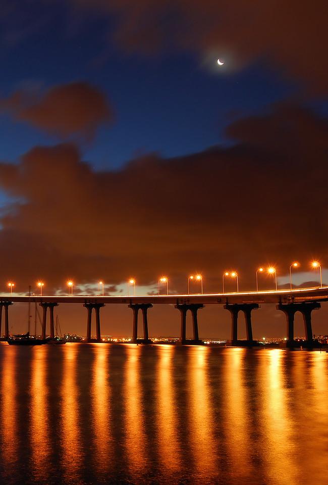Coronado Bay Bridge (Clearing Morning Storm)