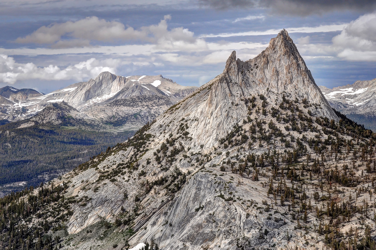 Cathedral Peak and Mount Conness