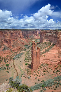 Spider Rock  Canyon De Chelly National Monument, Arizona.  Copyright © 2011 All rights reserved.