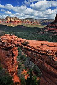 Devil's Natural Bridge Sedona, Arizona.  Copyright © 2011 All rights reserved.