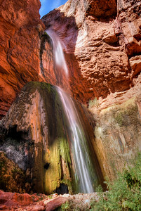 Ribbon Falls Grand Canyon National Park, Arizona.  Copyright © 2008 All rights reserved.
