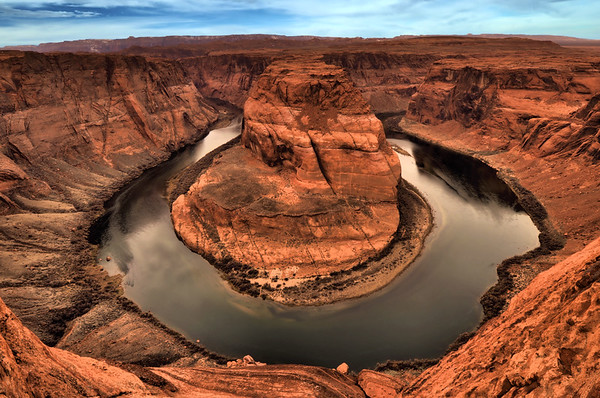 Horseshoe Bend   Near Page, Arizona.  Copyright © 2009 All rights reserved.