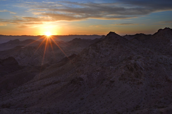 Mountain Sunset The Needles, Arizona.  Copyright © 2012 All rights reserved.