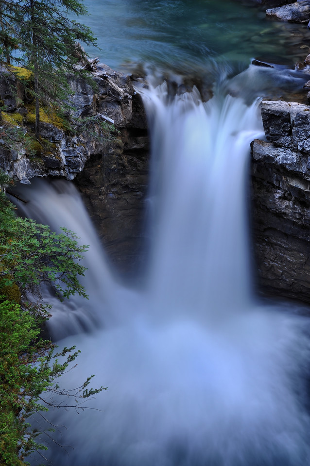A Johnston Canyon Fall<br /> Banff National Park, Alberta Canada.<br /> <br /> Copyright © 2009<br /> All rights reserved.