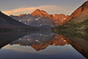 Mount Gould Reflection in Lake Josephine<br /> Glacier National Park, Montana.<br /> <br /> Copyright © 2009<br /> All rights reserved.