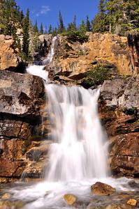 Tangle Falls Jasper National Park, Alberta Canada.  Copyright © 2008 All rights reserved.