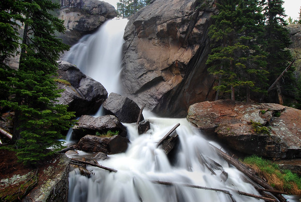 Ouzel Falls Rocky Mountain National Park, Colorado.  Copyright © 2009 All rights reserved.