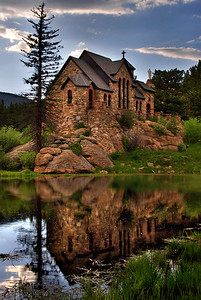Camp Saint Malo Church Rocky Mountain National Park, Colorado.  Copyright © 2009 All rights reserved.