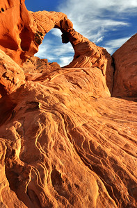 Rock Arch.  Valley of Fire State Park, Nevada.  Copyright © 2011 All rights reserved.