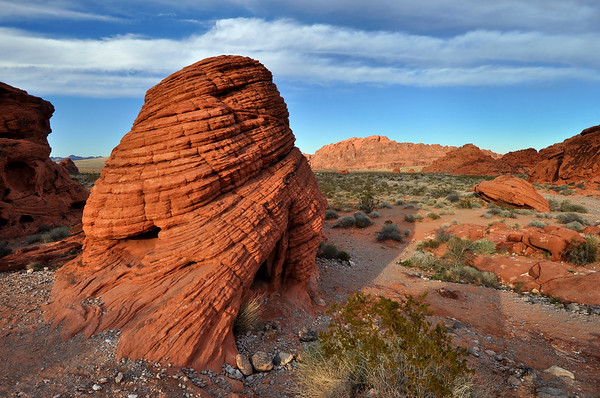 The Beehive, Valley of Fire State Park, Nevada.  Copyright © 2011 All rights reserved.